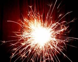 Wunderbare Explosion