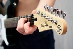 E-Gitarre in Aktion