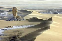 Weisse Wüste Aegypten