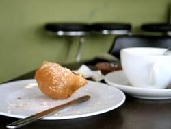 Frühstücksreste