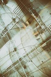 Stahlwerk künstlerisch