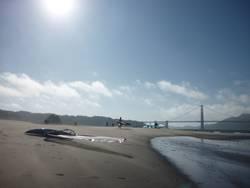 Das alte Brett und das Meer