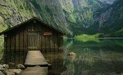 Hütte im Königssee
