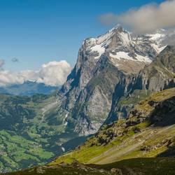 Am Fuße der Eiger-Nordwand