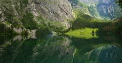Spiegelung am Königssee