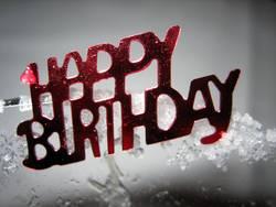 - HAPPY BIRTHDAY -