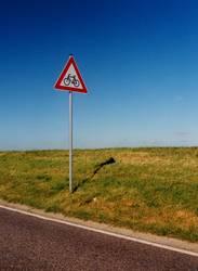 Vorsicht Radfahrer..