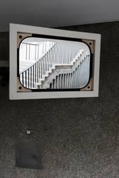 treppe im spiegel