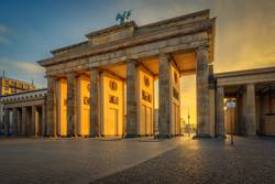 Brandenburger Tor am Morgen...