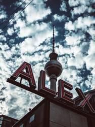 Der Himmer über Ost-Berlin