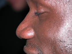 Afrikanisches Gesicht