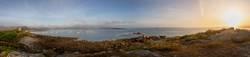 Panoramablick in der Bretagne