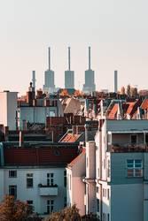 Berlins Panorama – Sicht aus Charlottenburg
