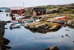 Haus mit Seezugang