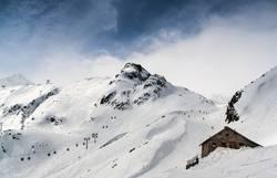 Hütte, Gondel, Berg