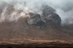 Isle of Skye in den Wolken