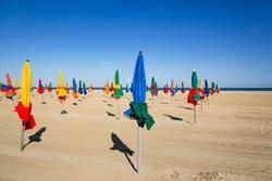 Am Strand von Deauville
