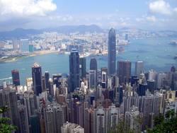 Hongkong from Peakview