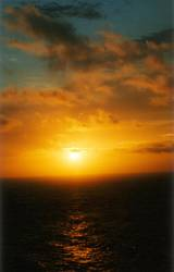 Sunrise at 5:00 am