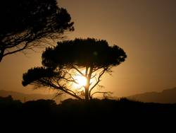 Sardischer Sonnenuntergang