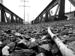 Stillgelegtes Eisenbahnviadukt