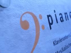 Piano Schild