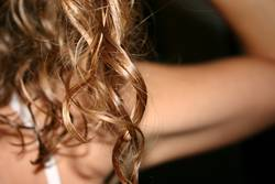 shiny curls