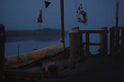 Morgens am Hafen II