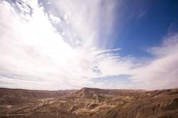 Der Himmel über der Wüste Negev