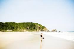 Wie Strand am Meer