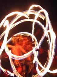 twirling fire