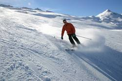 Ski-Schwung