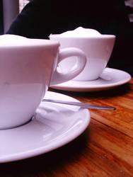 Zuhörer - Kaffee
