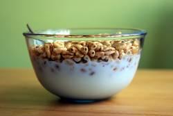 Cerealien zum Frühstück