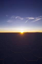 Sonne auf Salar