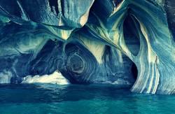 Blaues Patagonien