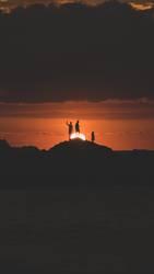 Sonnenuntergang mit Freunden - Mazatlan Mexiko