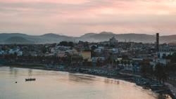 Sonnenaufgang in der Bucht