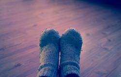 Füße / Socken / Alt