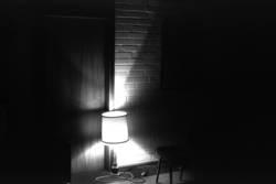 erleuchtetes Zimmer