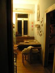 Küche einer Wohngemeinschaft - kitchen