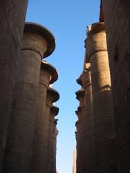 Säulen ohne Dach