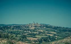 San Gimignano in der Toskana (Italien)