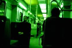 In der S-Bahn