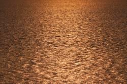 Meer im Sonnenuntergang