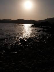Malles Sonnenuntergang