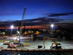 Abendstimmung am Hafen II