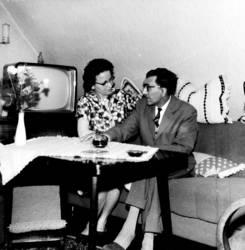 TV - mit Mann und Frau