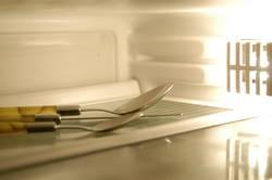 Besteck im Freezer