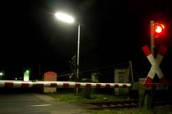 Bahnübergang ohne Zug